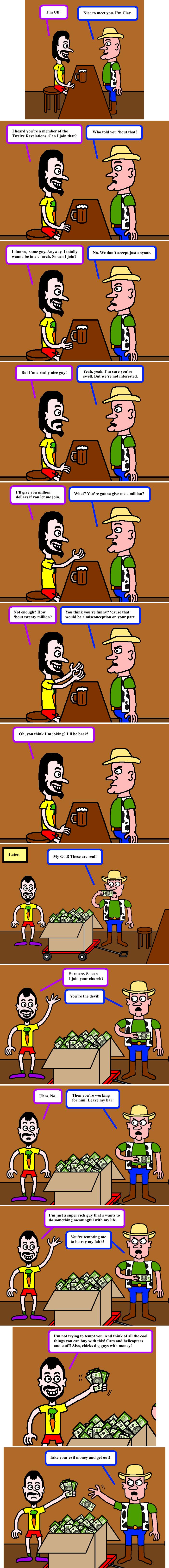 An offer